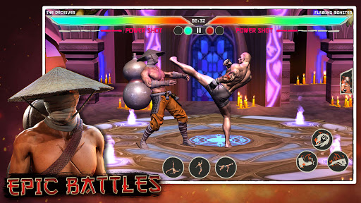 Kung Fu Madness Street Battle Attack Fighting Game apkpoly screenshots 3