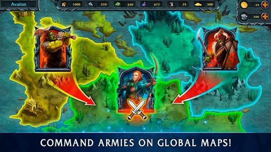 Heroes of War Magic-Turn Based RPG & Strategy game 5