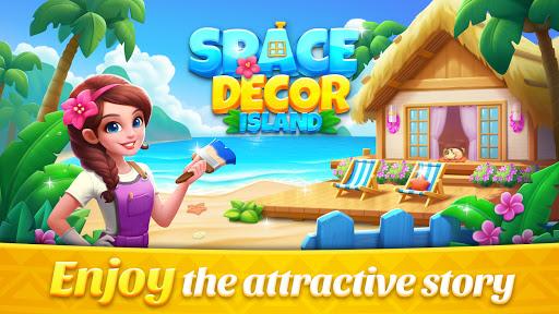 Space Decor : Island  screenshots 5