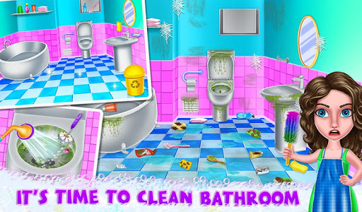 House Cleanup : Girl Home Cleaning Games 3.9.1 screenshots 2