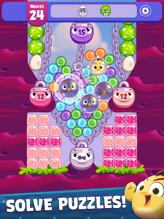 Angry Birds Dream Blast - Bubble Match Puzzle  poster 9