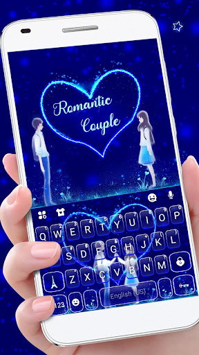 Romantic Love Keyboard Theme 1.0 Screenshots 1