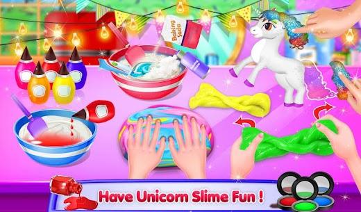 Unicorn Slime Maker Simulator Satisfying Games DIY 8