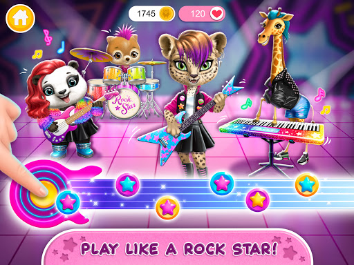 Rock Star Animal Hair Salon - Super Style & Makeup 4.0.70031 screenshots 12