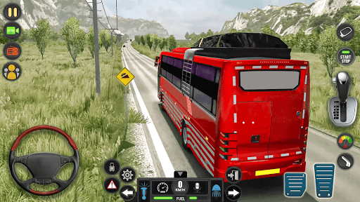 Public Transport Bus Coach: Taxi Simulator Games apktram screenshots 2