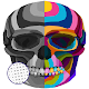 Skull Art Coloring By Number - PixelArt Coloring para PC Windows