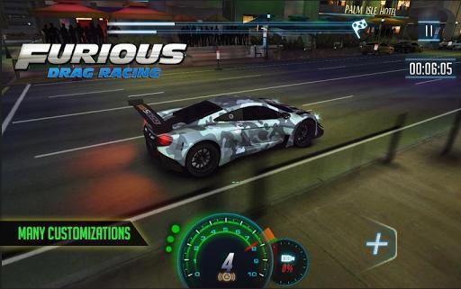 Furious 8 Drag Racing - 2020's new Drag Racing  Paidproapk.com 2