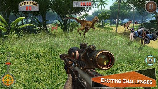 Dino Hunter 3D - Dinosaur Survival Games 2021 Apkfinish screenshots 8