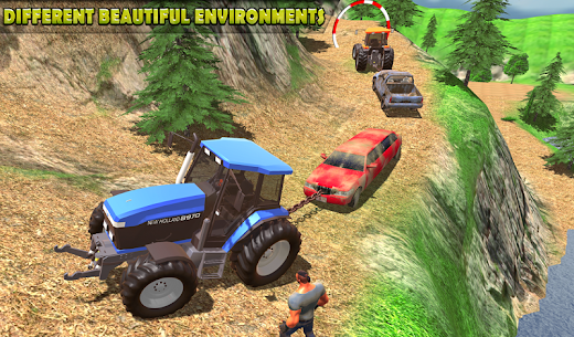 Tractor Pull Simulator Drive: Tractor Game 2020 2
