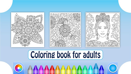 Coloring Book for Adults screenshots 14