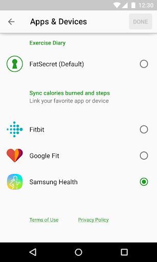 Calorie Counter by FatSecret android2mod screenshots 5