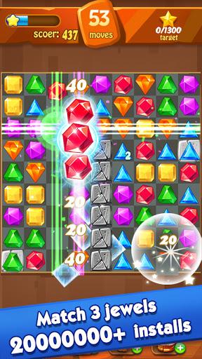 Jewels Classic - Jewel Crush Legend Apkfinish screenshots 12