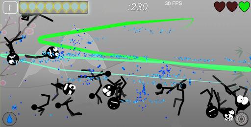 Stickman Ninja Slice apklade screenshots 1