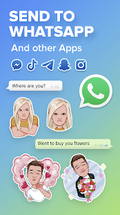 Mirror: emoji meme maker, Xmas face avatar sticker Screenshot