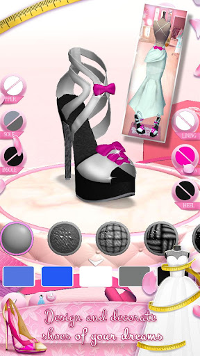 Wedding Dress Maker and Shoe Designer Games 4.2.2 Screenshots 3