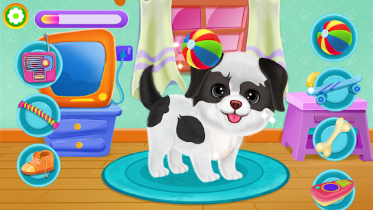 Puppy Party 🐶 Secret Pet Life Day Care Dog Games 4