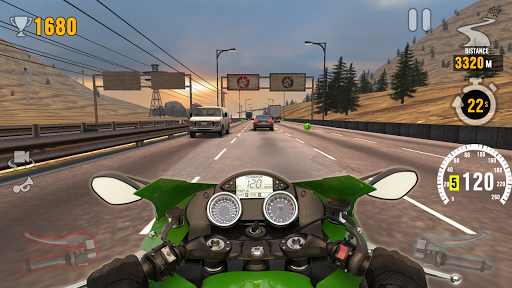 MotorBike: Traffic & Drag Racing I New Race Game screenshots 5