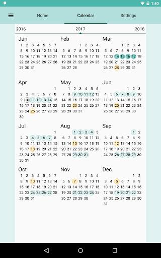 Period and Ovulation Tracker  Screenshots 13