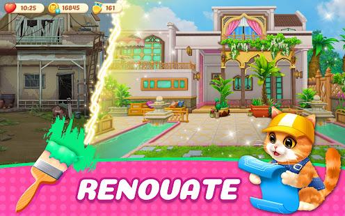 Kitten Match-Mansion & Pet Makeover apk