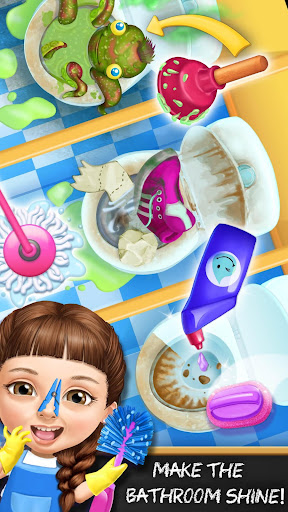 Sweet Baby Girl Cleanup 6 - School Cleaning Game android2mod screenshots 4