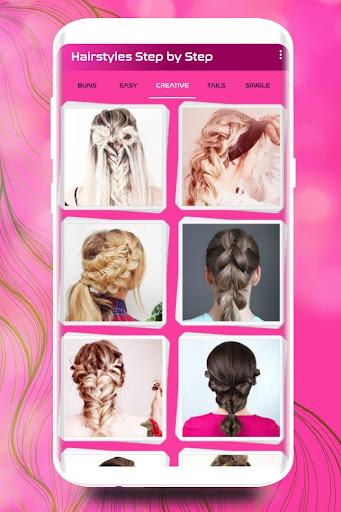 Hairstyles Step by Step DIY  screenshots 2