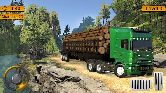 Off-road Cargo Truck Simulator 1.0 Screenshots 3