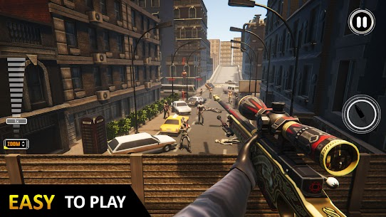 Sniper 3D Assassin Fury: FPS Offline games 2021 Mod Apk (Unlimited Money) 3