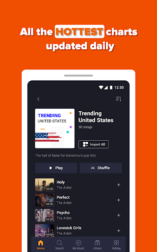 Free Music Streaming: Trending for Tube Music Song  screenshots 18