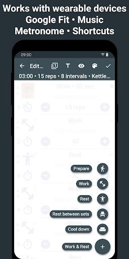 Tabata Timer: Interval Timer Workout Timer HIIT 5.2.1 Screenshots 8