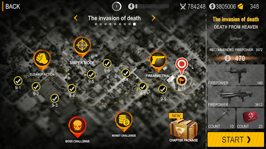 Death City: Zombie Invasion Mod Apk (Unlimited Money) 9