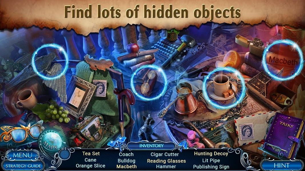 Hidden Objects - Mystery Tales: Hangman Returns