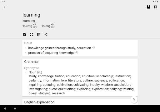 Dictionary & Translator Free 19.5.0 Screenshots 12