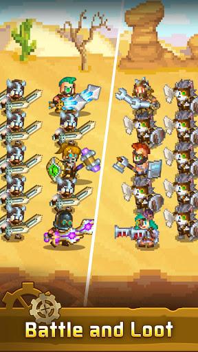 Steam Town: Farm & Battle, addictive RPG game  screenshots 4