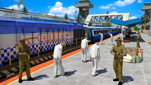 Indian Police Train Simulator 1.4 screenshots 1