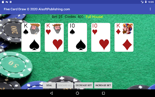 Five Card Draw Poker  screenshots 20