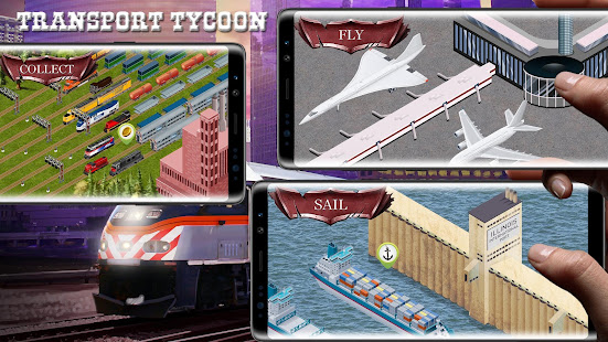 Chicago Train - Idle Transport Tycoon 0.3.66 APK + Mod (Free purchase) for Android