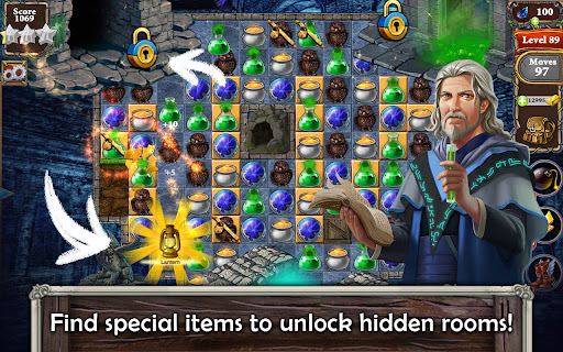 MatchVentures - Match 3 Castle Mystery Adventure Apkfinish screenshots 11