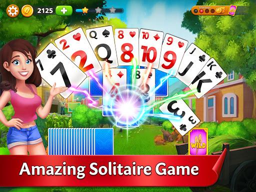 Solitaire Garden - TriPeaks Story screenshots 6