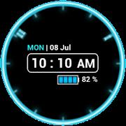 Neon Clock Widget [Free]