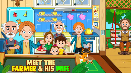 My Town : Farm Life Animals Game  for Kids Free 1.07 screenshots 4