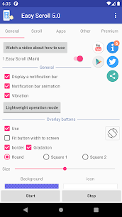 Easy Scroll – Automatic scrolling Premium MOD APK 2