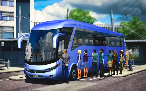 US Smart Coach Bus 3D: Free Driving Bus Games 1.0 Screenshots 1