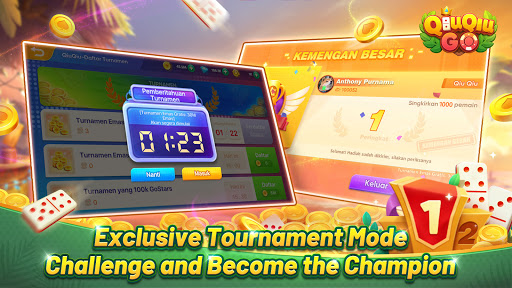 QiuQiu Go-Domino QiuQiu Online Tournament  screenshots 13