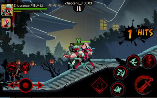 Télécharger gratuit Stickman Ninja Legends Shadow Fighter Revenger War APK MOD 2