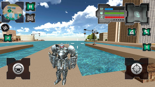 Flying Dragon Robot Simulator :Transformation War  Screenshots 1