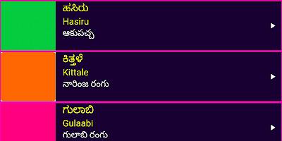 Learn Kannada From Telugu