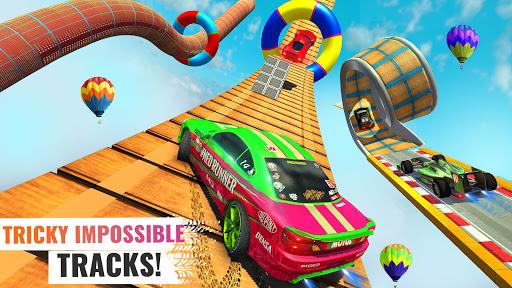Sports Car Crazy Stunts 2020- Mega Ramp Car Games 4.6 screenshots 2