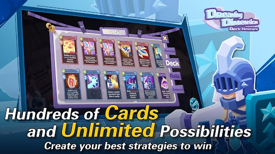 Dreaming Dimension Mod Apk: Deck Heroes (Unlimited Coins) 4