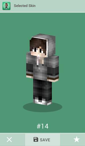 Skins for Minecraft PE 1.4 Screenshots 11