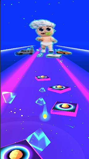 Vlad bumaga A4-Kids Dancing Tiles Hop 1.0 Screenshots 4